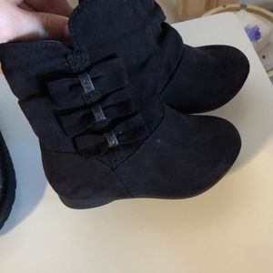 Size 6 little girl boots